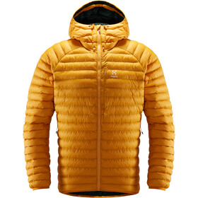 Haglöfs Essens Mimic Hooded Jacket Herr Desert Yellow/Mineral